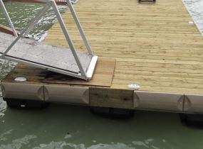 techstar dock bumper floating dock british columbia